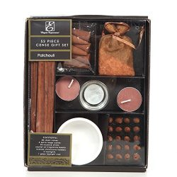 Aromatherapy Hosley Pack of 52 Pieces Patchouli Highly Scented Gift Set. Ideal Gift for Aromathe ...