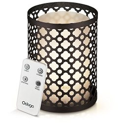Odoga Aromatherapy Essential Oil Diffuser, 100 ml Ultrasonic Quiet Cool Mist Humidifier with War ...