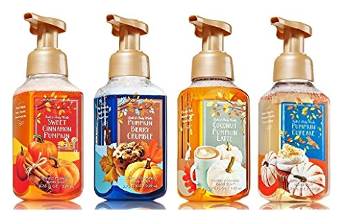 Bath and Body Works Fall Foaming Hand Soap: Sweet Cinnamon Pumpkin – Pumpkin Cupcake ̵ ...