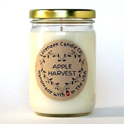 Apple Harvest Soy Candle, 12oz