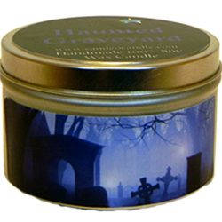 Haunted Graveyard, Super Scented Soy Candle Tin (6oz)