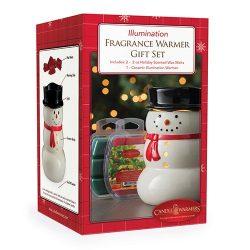 Candle Warmers Etc. Illumination Fragrance Warmer Gift Set, Snowman