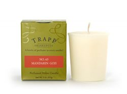 Trapp Signature Home Collection No. 65 Mandarin Goji Votive Scented Candle, Pack of 4