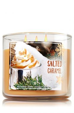 Bath and Body Works 3-wick Candle 2016 Winter Edition (Salted Caramel)