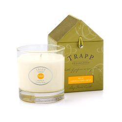 Trapp Signature Home Collection No. 69 Amber & Tonka Bean Poured Scented Candle, 7-Ounce