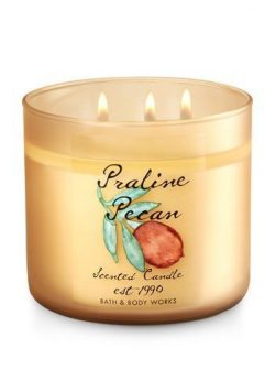 Bath and Body Works 3-Wick Limited Edition Candles EST-1990 COLLECTION (Praline Pecan)