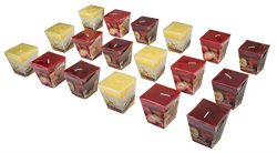 All2shop Scented Votive Candles – 18pcs – Decorative Home Aromatherapy Fragrance Set ...