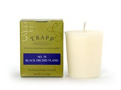 Trapp Signature Home Collection No. 70 Black Orchid Ylang Votive Scented Candle, Pack of 4