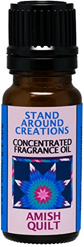 Concentrated Fragrance Oil – Amish Quilt – Spicy, sweet, and complex. Vanilla with a ...