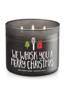 Bath & Body Works Candle 3 Wick 14.5 Ounce Maple Cinnamon Pancakes We Whisk You A Merry Chri ...