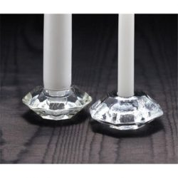 Biedermann & Sons – Reversible Glass Candle Holder – For Chime and Taper Candles ...