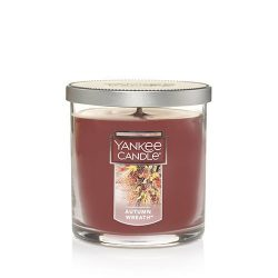 Yankee Candle Autumn Wreath Small Single Wick Tumbler Candle, Food & Spice Scent
