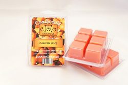 3 Pack of Highly Scented Coo Candles Soy Wickless Candle Bar Wax Melts – Pumpkin Spice (3)