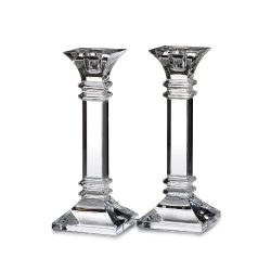 Marquis by Waterford Treviso 8-Inch Candle Holders, Set of 2