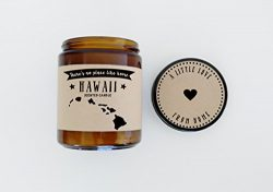 Hawaii Scented Candle Missing Home Homesick Gift Moving Gift New Home Gift No Place Like Home St ...
