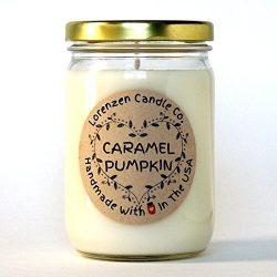 Caramel Pumpkin Soy Candle, 12oz