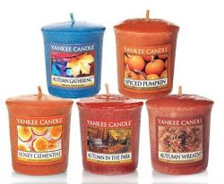Fall Favorites Samplers Votive Collection Gift Set