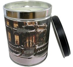 Winter Wonderland Scented Candle in 13 oz Tin with Snow Scene Label – Made in the USA by O ...
