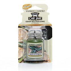 Yankee Candle Car Jar Ultimate, Sage & Citrus