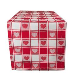 DII 100% Cotton, Machine Washable, Mother's Day, Valentine's Day & Spring Table  ...