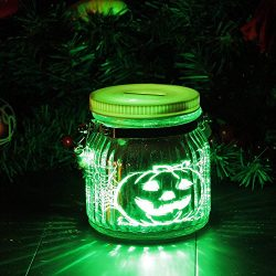 Candle Choice Mason Jar Light Indoor Outdoor Jar Light Battery Operated Lantern with Remote and  ...