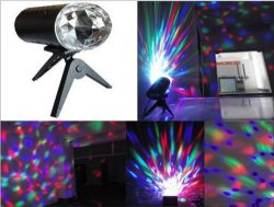 PYSICAL(TM) Disco Stage Lighting LED RGB Crystal RAINBOW COLOR Effect light with Tripod (XT-2)