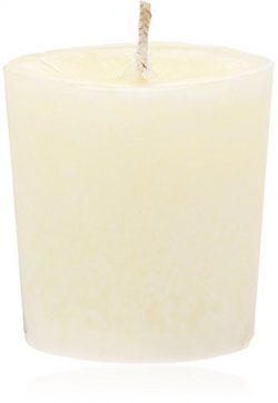 Aroma Naturals Votive Candles with Orange Clove and Cinnamon Essential Oil White Scented, Peace  ...