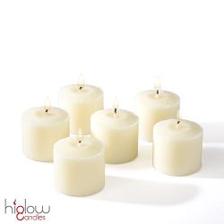 Votive Candle, Unscented Ivory Wax, Box of 72, for Wedding, Birthday, Holiday & Home Decorat ...