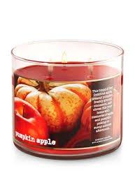 Bath & Body Works 3 Wick Pumpkin Apple