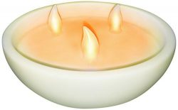 Banana Boat BB3WCAN100R LED Flameless 3-Wick Candle Light by Banana Boat