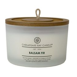 Chesapeake Bay Candle Heritage Collection Scented Candle, Balsam Fir, Coffee Table Jar