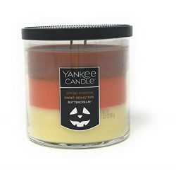 Yankee Candle Halloween Trio Tumbler Candle – Spiced Pumpkin / Sweet Seduction / Buttercre ...