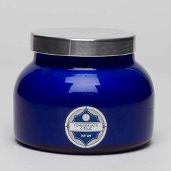 Aspen Bay Capri Blue Signature Jar Candle – Pomegranate Citrus