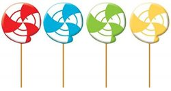 4 Adorable Multipurpose Pick Lead-Free Wick Candles (3 Value Pack |12 Candles Total)- Cupcake &a ...