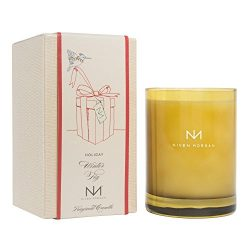 Niven Morgan Holiday Winter Fig Scented Candle, No Matches