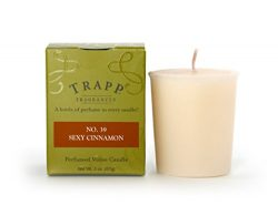 Trapp Signature Home Collection No. 39 Sexy Cinnamon Votive Scented Candle, Pack of 4