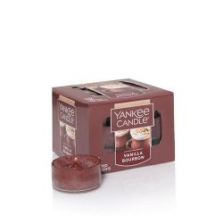 Yankee Candle Vanilla Bourbon Tea Light Candles, Food & Spice Scent