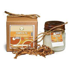 Aira Soy Candles – Organic, Kosher, Vegan, in Mason Jar w/ Therapeutic Grade Essential Oil ...