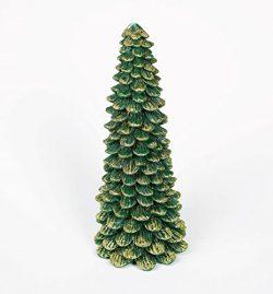 Christmas Gift | Stunning Christmas Tree Candle 12″ – No-Drip Decorative Holiday Wax Candl ...