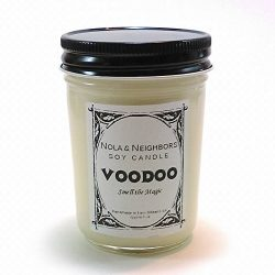 Halloween Candle – Voodoo candle – Magic candle – Woodsy, citrus, florals, tro ...