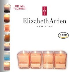 48hr Holiday Sale! Elizabeth Arden Grapefruit Ginger Aromatherapy Votive Candle Gift 4-pack of S ...