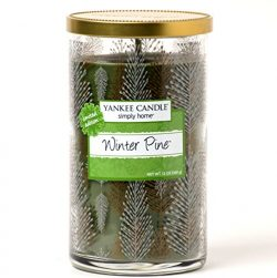 "Yankee Candle Limited Edition 12 oz Simply Home ""Winter Pine"" Decorative Jar Candle"
