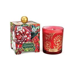 Michel Design Works Gift Boxed Large Soy Wax Candle, Christmas Day, 14 oz