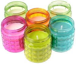 Glass Jar Citro Candle