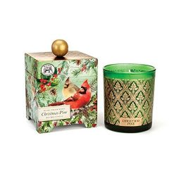 Michel Design Works Gift Boxed Large Soy Wax Candle, Christmas Pine, 14 oz
