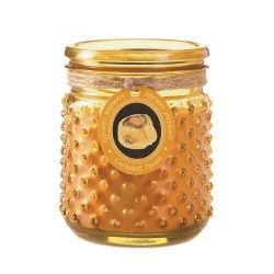 Zingz and Thingz Caramel Pecan Hobnail Jar Candle