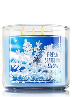 Bath & Body Works 3-Wick Candle in Fresh Sparkling Snow