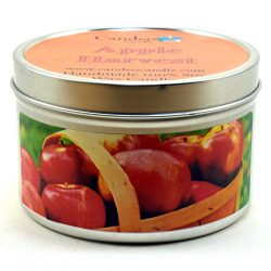 Apple Harvest, Super Scented Soy Candle Tin (6 oz)