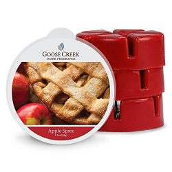 Goose Creek Wax Melts Home Fragrance Scented Wax Melts, Apple Spice Melt,Three Pack 18 Melts