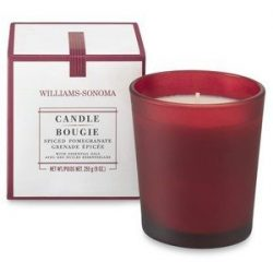 Williams Sonoma Spiced Pomegranate Candle